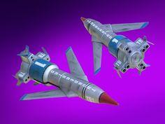 Build-up of the Imai kit Thunderbird 1, Sci Fi Models, Rockets, Scale Models, Trivia, Science Fiction, Comic, Kit, Classic