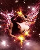"""Twin Flame ~ A Love Poem (link is to an adult website, NSFW) . """"Lovers don't finally meet somewhere, they're in each other all along"""" ~ Rumi. Anti Amor, Twin Flame Love, Twin Flames, Bel Art, Love Twins, Flame Art, Creation Art, Twin Souls, Soul Connection"""
