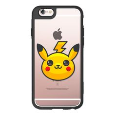 Pokemon Go Pikachu - iPhone 6s Case,iPhone 6 Case,iPhone 6s Plus... (755 MXN) ❤ liked on Polyvore featuring accessories, tech accessories, iphone case, iphone cases, iphone cover case, apple iphone cases, clear iphone cases and iphone hard case