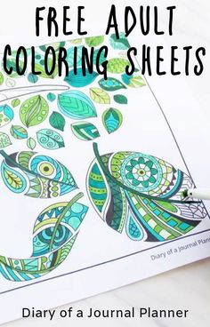 Mindfulness colouring is a fun way to add calm into your life. Use these free mindfulness colouring sheets and printables to be more mindful every day. Coloring For Kids Free, Free Adult Coloring Pages, Colouring Sheets For Adults, Coloring Pages For Grown Ups, Mindfulness Colouring Sheets, Free Printable Coloring Sheets, Web Design, Kit Bebe, Free Printables