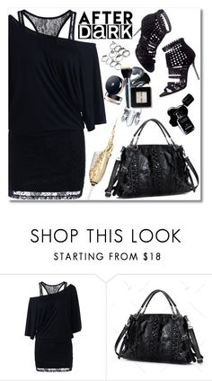 """""""After Dark: Party Outfits"""" by oliverab ❤ liked on Polyvore featuring Jimmy Choo, Chanel, afterdark and rosegal"""