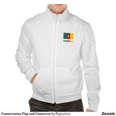 Cameroonian Flag and Cameroon Printed Jacket
