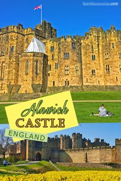 Why Alnwick Castle is a Must-See in England? Beautiful Places To Travel, Best Places To Travel, Amazing Places, London Tourist Spots, Alnwick Castle, Scotland Castles, Beautiful Castles, Filming Locations, Family Travel