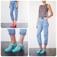 Styled by Topshop juju jellies