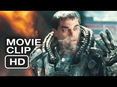 Man of Steel Official Clip - It Hurts, Doesn't It!? (2013) Superman Movi...