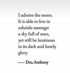 Admire the moon!