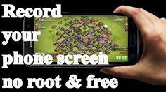 How To Record Your Android Mobile Screen No Root & free