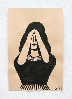 Geoff Mcfetridge paper paintings