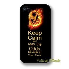 Hunger Games iphone 4/4s case Hunger Games by DazzleStudio on Etsy, $1.99