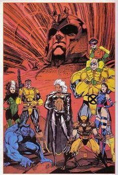 I used to have this on my wall at home. Classic X-Men
