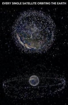 all the satellites keeping Earth covered