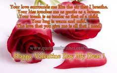 happy valentine day words	 Happy Valentines Day Beautiful Picture Quotes Thoughts 2014!