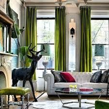 Image result for green velvet curtains
