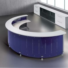 Sphera Reception Desk 3 - Reception Desks - Reception