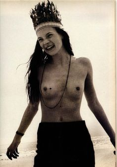 Kate Moss by Corinne Day in The Face, July 1990.