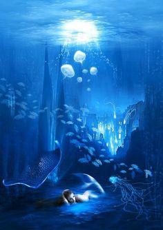 underwater fairie