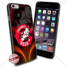 "MLB,Cincinnati Reds,iPhone 6 4.7"" & iPhone 6s Case Cover ...…"