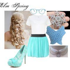 """Elsa Spring"" by mandilynn726 on Polyvore"