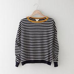 Striped Alexa Cashmere Sweater on Wanelo