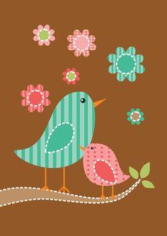LuvMyEvo: ~ Cute Birds Wallpaper.