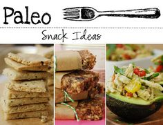 Stuck on snacks? Here is a great list of easy to prepare, mouthwatering, Paleo approved snack recipes. www.chosen-foods.com
