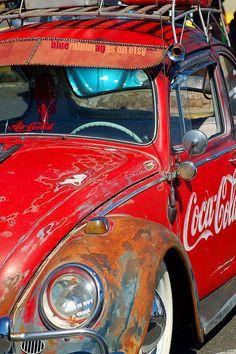 Roadbuster Vintage Car Art Car Photography VW