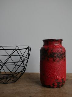 Original fat lava vase by Scheurich. A real eyecatcher in every interior! https://www.etsy.com/nl/listing/507193283