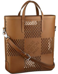 e0cfcbdca17 Louis Vuitton Nomade Damier Oversize Cabas North South Louis Vuitton  Spring Summer 2014 Mens Bag Names and Prices