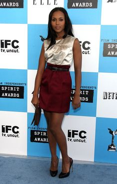 Kerry Washington Photo - Film Independents 2007 Spirit Awards - Arrivals (2007)