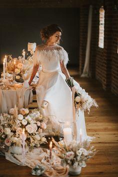 Ballet Wedding Ideas Henry Lowther Photographer Floor Flowers Candles Fabric Pretty Decor Table Tablescape #RomanticWedding #SoftWedding #BalletWedding #Wedding #WeddingIdeas #Orchids #WeddingFlowers #WeddingCandles #PrettyWedding #WeddingDecor #WeddingTable #WeddingTablescape