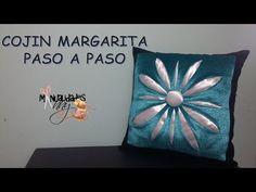 CLASE VI - COJIN MARGARITA PASO A PASO | Manualidades Anny - YouTube