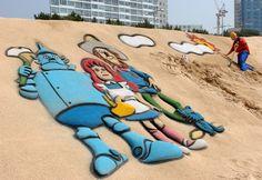 Đam mê du lịch: Lễ hội xây lâu đài và tắm cát bên bờ biển Busan