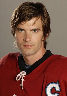 Lucas Bryant in a hockey sweater. Yes, please.