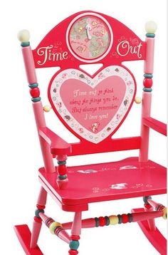 Time out chair ideas