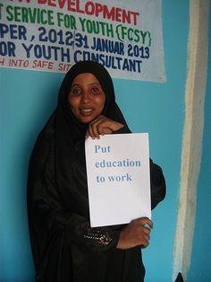 Badal, 23 years, Somalia #YouthSkillsWork