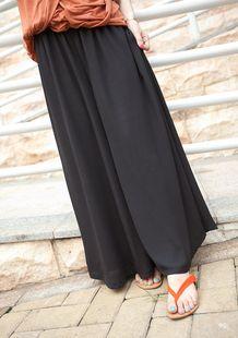 Chiffon wide leg pants!-FashionTheBox.Com