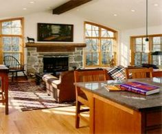 family room additions pictures | Gladwynne Family Room Addition with Vaulted Ceiling home-addition ...