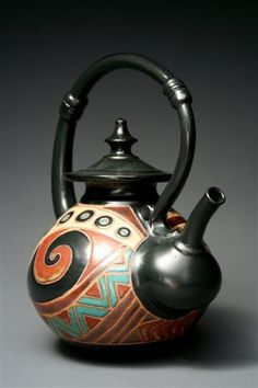 Earthsea Pottery Teapot - linking mostly because I like the name of the company rather than for the pot.