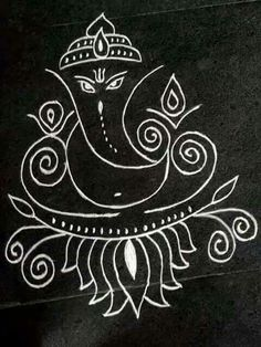 Riddhi siddhi dayak ganesha; Siddhi, the insight and attainment of occult powers through the Ajna or third eye / Nilam, Kirlia