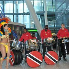 Trinidad and Tobago at the Piarco Airport