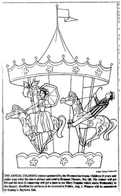 mary poppins coloring pages already colored | It's time for another coloring contest--Mary Poppins is ...