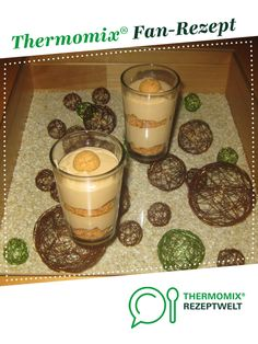 Kaffeecreme mit Amarettini von krokuk. Ein Thermomix ® Rezept aus der Kategorie Desserts auf www.rezeptwelt.de, der Thermomix ® Community.