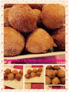 Quarkbällchen Zutaten: 100g Zucker 4 Eier 500g Quark 2 Packung Vanillezucker 1 Packung Backpulver 500g Mehl in den...