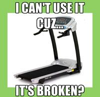 LOL - Why I am not running?  http://EllipticalTrainerReviews101.com