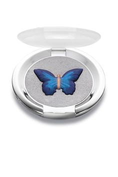 Although this eye shadow's graceful butterfly design might seem too gorgeous to touch, its buttery texture and exceptional color payoff ensures that it's so much more than just a pretty object.  Chantecaille Papillons Eye Shade