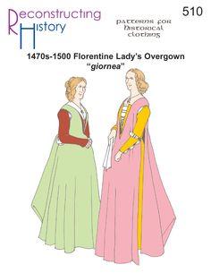 Floretine Giornea | 15th Century Italian Overgown | Florentine Overgown