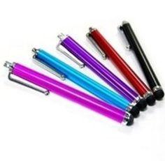 Colorful Aluminum stylus for iphone/ipad