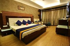 For a delightful stay book OYO 924 Hotel Classic at Chandigarh, Bed, Room, Hotels, Furniture, Home Decor, Travel, Bedroom, Decoration Home