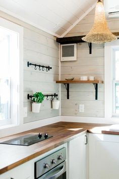 Butcher Block Counter - Tiny Marta by Sanctuary Tiny Homes