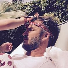 Thanks to David Beckham finally joining Instagram this year, we all know that Harper likes to make her dad look pretty. | David Beckham Has A New Minions Tattoo Thanks To Daughter Harper